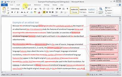 Word Changes Comment Accept Scribbr Editing Documento