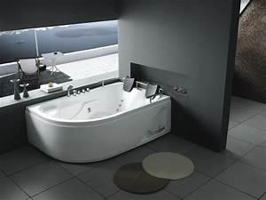 Baignoire 2 Places Balneo : baignoire baln o idaho 2 places 181 x 122 x 65 cm 51342 ~ Edinachiropracticcenter.com Idées de Décoration