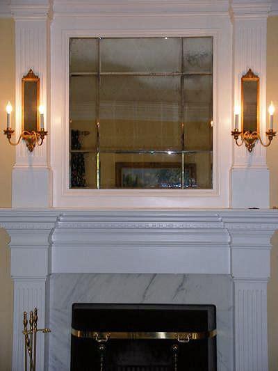 fireplace mirror residential glass binswanger glass