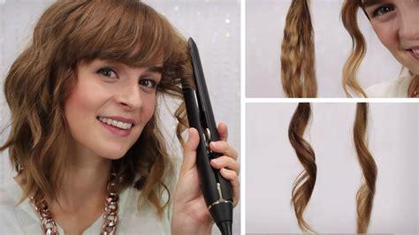 mittellange haare locken machen hairbst haare locken mit gl 228 tteisen 4 stylings mein alltagslook