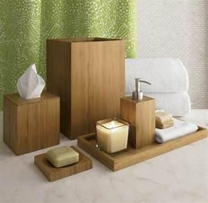 Accessoires Pour Salle De Bain : les accessoires de salle de bain pour un bon temps la maison ~ Edinachiropracticcenter.com Idées de Décoration