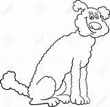 Poodle Skirt Cartoon Drawing Coloring Dog Getdrawings sketch template