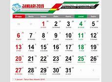 Kalender Tahun 2019 With Download Master Lengkap Cdr Dan