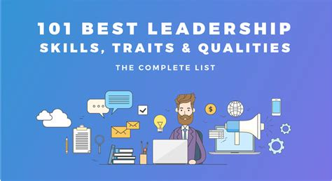 leadership skills traits qualities