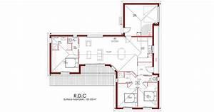 trendy plan maison en u chambres with maison en u With amazing modele de plan maison 13 architecte au maroc