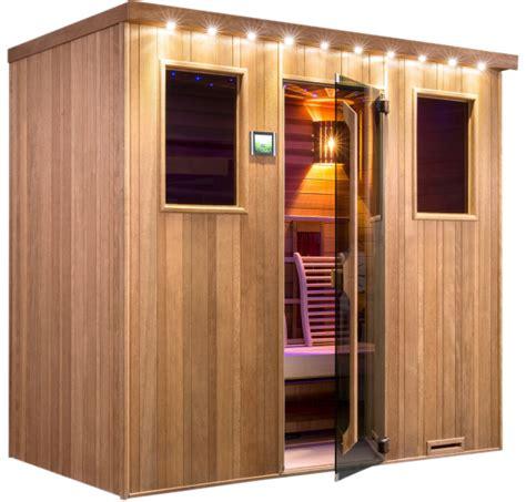 sauna infrarot kombi sauna infrarot kabine quot chaleur kombi quot sunday pools onlineshop