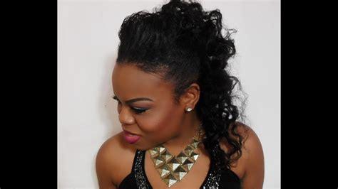 Black Half Hairstyles by Easy Half Up Half Hairstyle Tutorial Simplyounique