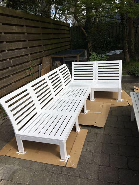 Ikea äpplarö Lounge by I Painted My Ikea Applaro Lounge Sofa White Lounge Sofa