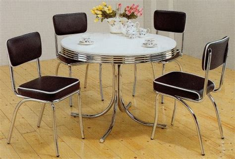 Retro Kitchen Table Chairs  Table Chairs  36 Inch Round