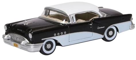 oxford diecast  scale buick century  blackwhite