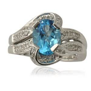 blue topaz engagement rings review - Blue Topaz Engagement Ring