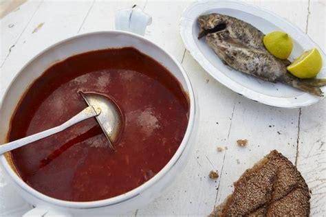 cuisine tunisienne poisson recette de soupe tunisienne au poisson facile et rapide
