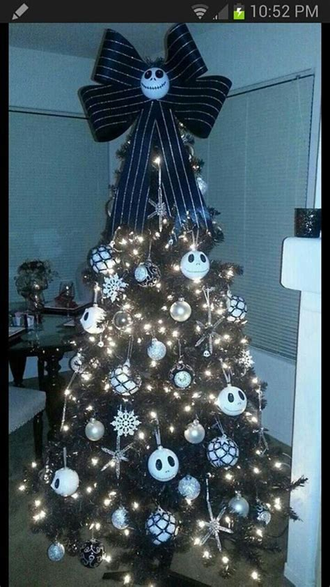 nightmare before christmas tree holiday celebrate