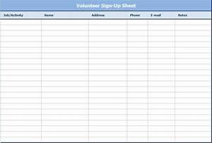 volunteer spreadsheet idealvistalistco With volunteer spreadsheet template