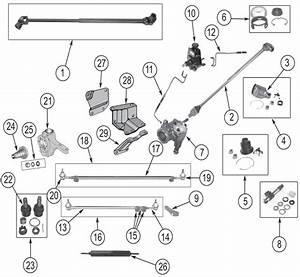 Jeep Cj Series Steering Parts   U0026 39 41