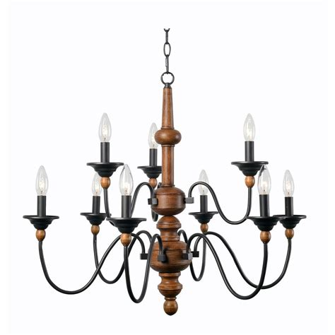 9 light chandelier kenroy home madeline 9 light wood chandelier 93529lwg
