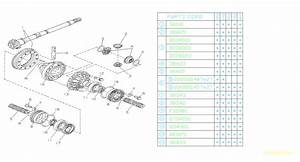 1993 Subaru Legacy Roller Bearing  Differential