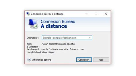 configurer bureau à distance windows 7 connexion bureau a distance connexion bureau a distance