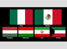 Why are the Italian and Mexican flags similar? Quora