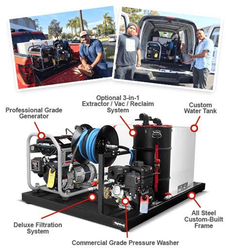 Mobile Auto Detailing Skid Mount Unit