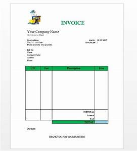 download janitorial services invoice template free With janitorial invoice template