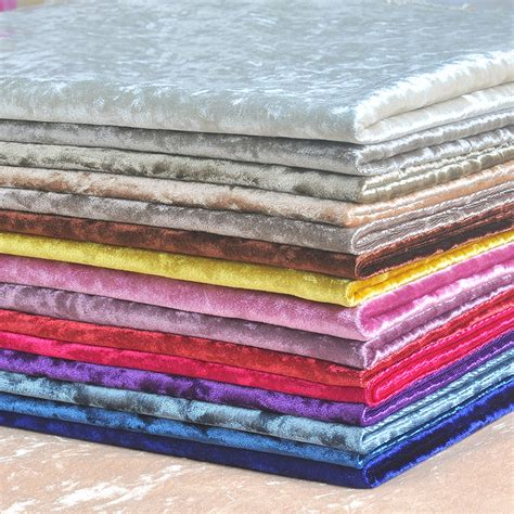 1 meter cut velvet fabric upholstery for curtains pink