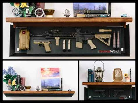 tactical walls shelf tactical walls 1242 rls gun shelf preparing for shtf