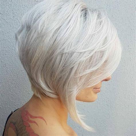 stylish medium bob haircuts  women easy care chic