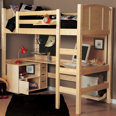 loft bed the advantages of loft bed with desk and storage