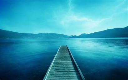 Water Landscape Pier Lake Desktop Backgrounds Wallpapers