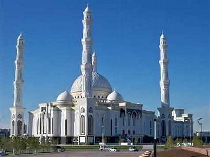 Mosque Kazakhstan Sultan Hazrat Astana 3d Asia