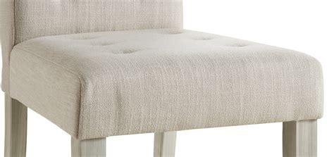 chaise tissu salle a manger chaise de salle à manger contemporaine en tissu beige lot
