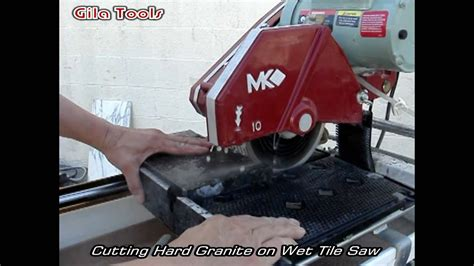 cutting hard granite  marble  wet tile