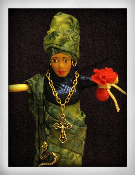 Marie Laveaux Voodoo Altar Doll