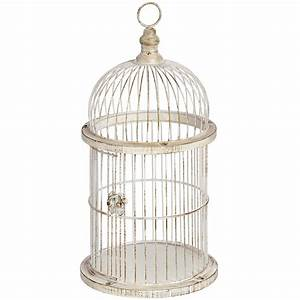 Decorative antique style birdcage From Hill Interiors