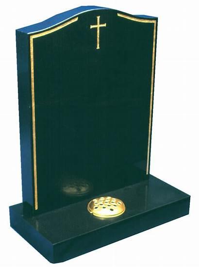 Granite Headstone Cross Gold Keyline Memorials Colours