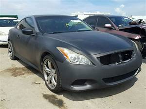 2010 Infiniti G37s Sport Coupe Manual For Parts For Sale