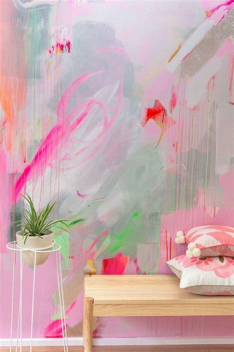 53+ DIY Ideas Cool Easy Paintings Canvas Wall Mural