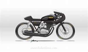 Yamaha Dt 400 Cafe Racer