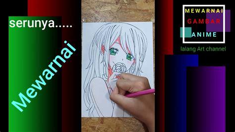 cara mewarnai gambar menggunakan pensil warna 4