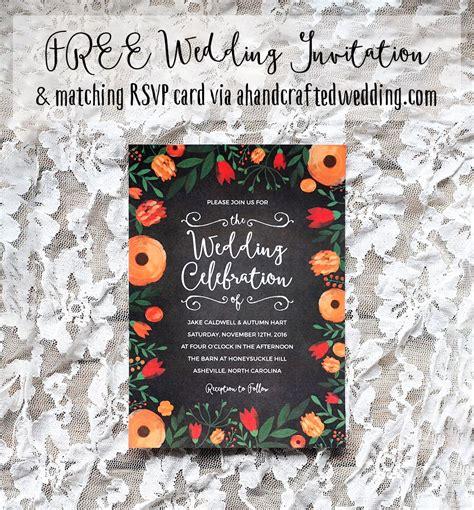 FREE Whimsical Wedding Invitation Template Whimsical