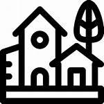 Pueblo Gratis Icono Icons Village Hebe Plan