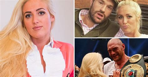 Tyson Fury's wife reveals as he's a traveller they didn't ...