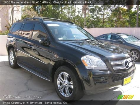 The gl450 and gl320 cdi are equipped identically, save for their powertrains. Obsidian Black Metallic - 2008 Mercedes-Benz GL 450 4Matic ...