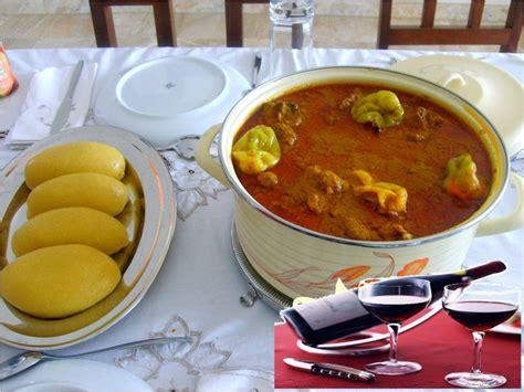 cuisine ivoiriene foutou banane avec sauce graine cote d 39 ivoire recettes