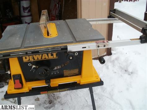dewalt contractor table saw armslist for sale trade dewalt contractor table saw