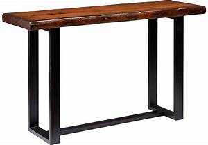 Orchard Grove Mahogany Sofa Table - Sofa Tables Dark Wood