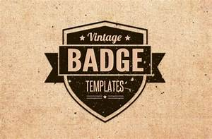 Vintage badges and brushes Vector   Free Download
