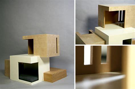 self scooping litter box habitat 39 11 modern cat house by chou hauspanther
