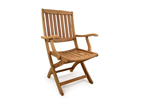 york folding teak arm chair grade a teak furniture
